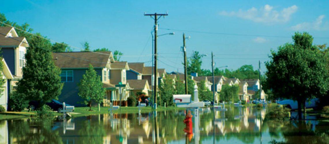 Abbington Park neighborhood - Nashville Flood 2010.  Credit: Brian Blas